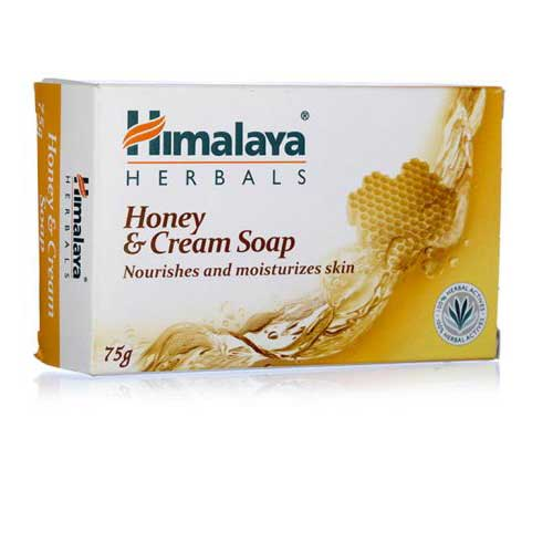 Himalaya Cream Honey Soap 125g