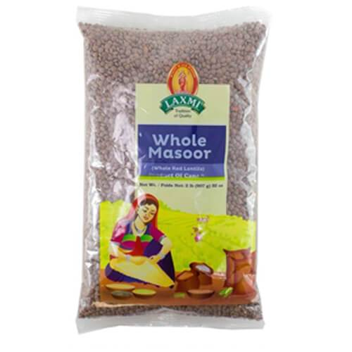 Laxmi Whole Masoor Dal - 2 Lb