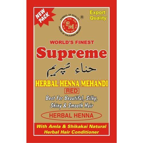 Supreme Herbal Henna (Red) - 5