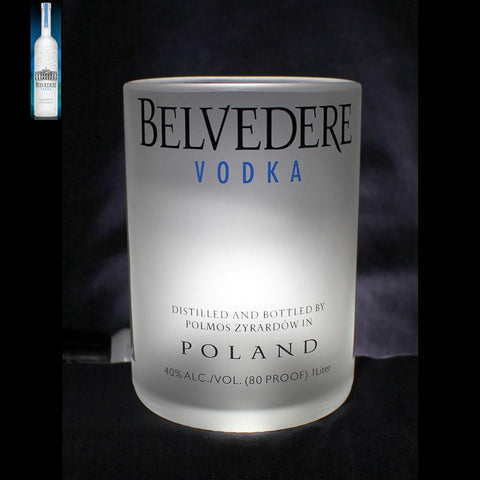 Belvedere Vodka Premium Rocks Glass (set of 4) Liquorware Gifts