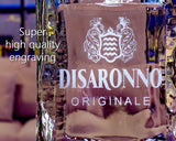 Disaronno Amaretto Custom Engraved/Etched & Personalized Bottle/Decanter, Empty Decanter Liquorware Gifts