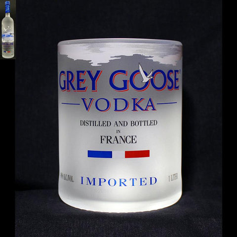 Grey Goose Vodka Premium Rocks Glass Rocks glass Liquorware Gifts