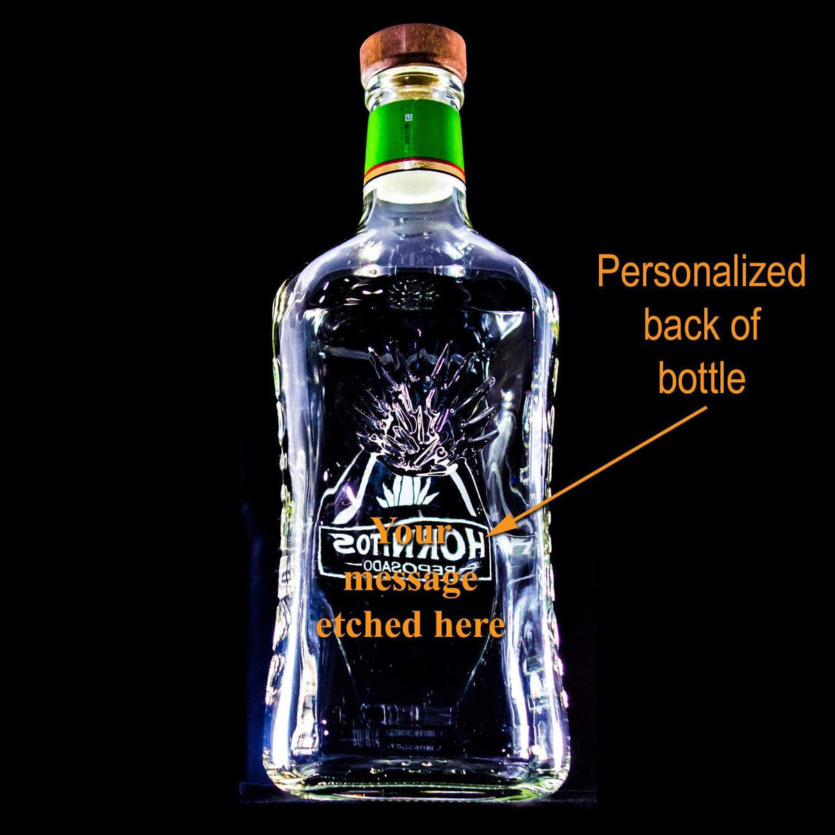 Hornitos Tequila Custom Engraved & Personalized Bottle