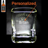 Jack Daniel's Whisky Premium Rocks Glass - Custom Engraved & Personalized Rocks glass Liquorware Gifts
