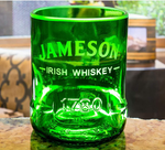 Jameson Irish Whiskey Premium Rocks Glass - Custom Engraved & Personalized Rocks glass Liquorware Gifts