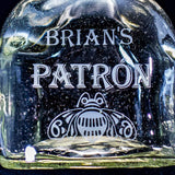 Patron Tequila Engraved Etched Personalized Bottle, Empty Decanter Liquorware Gifts