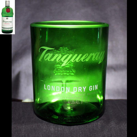 Tanqueray Gin Premium Rocks Glass - Custom Engraved & Personalized Rocks glass Liquorware Gifts