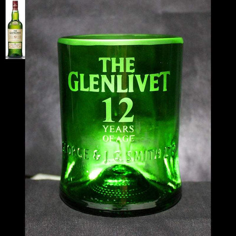 The Glenlivet Whiskey Premium Rocks Glass - Custom Engraved & Personalized Rocks glass Liquorware Gifts