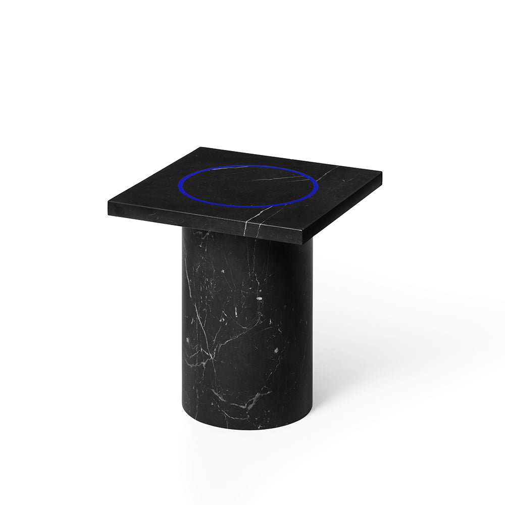 Dislocation Side Table /Black Marquina