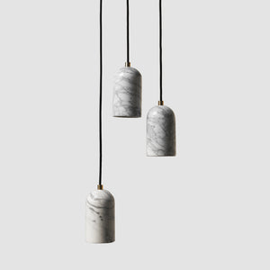 U Pendant Light/ Marble