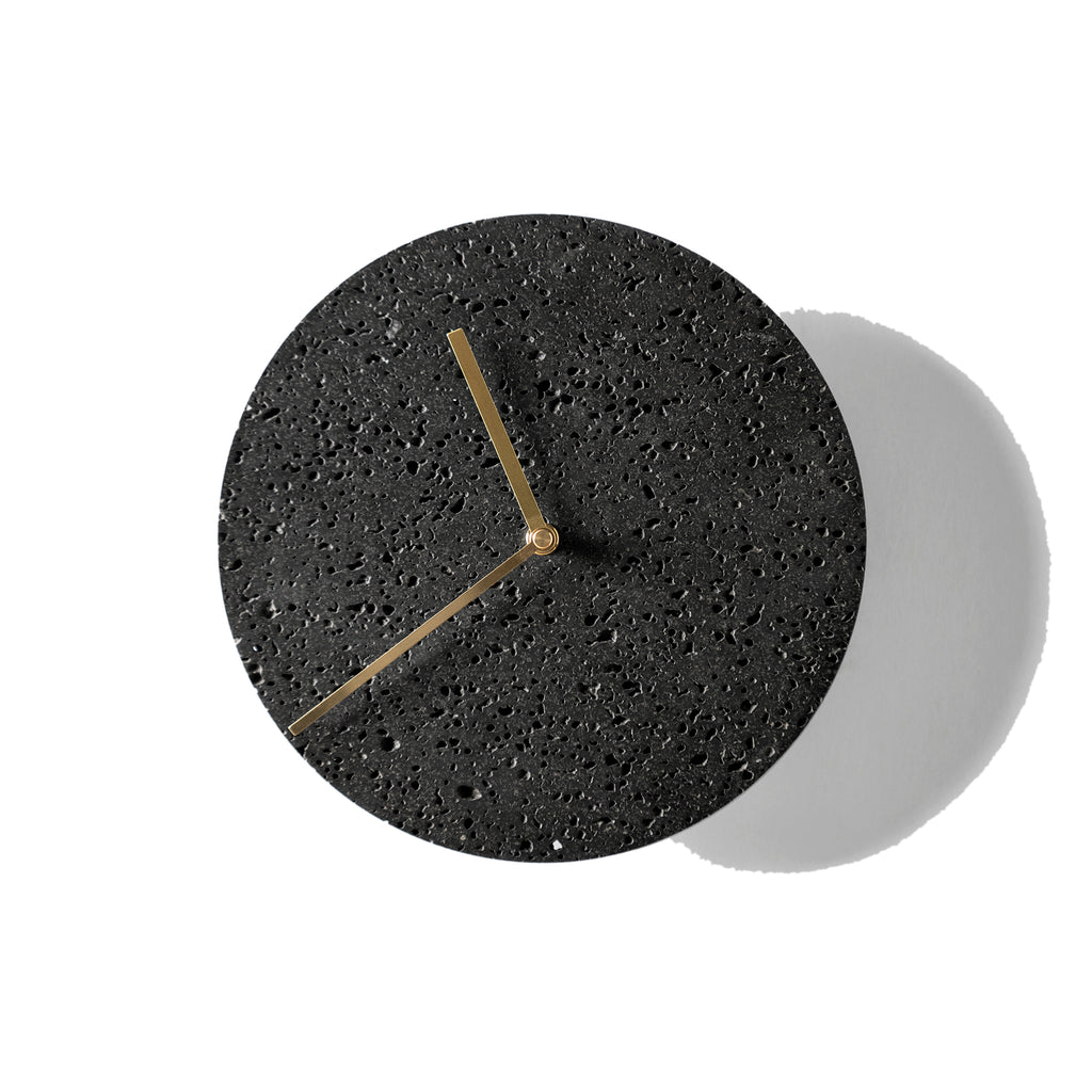 Moment Clock/ Lava