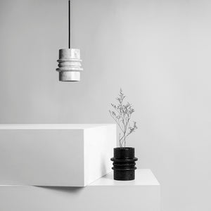 Circle Pendant Light /Marble