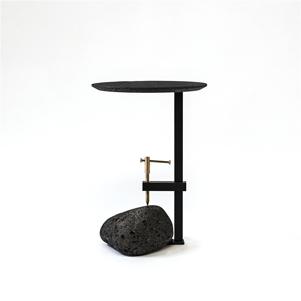 F side table /  Lava