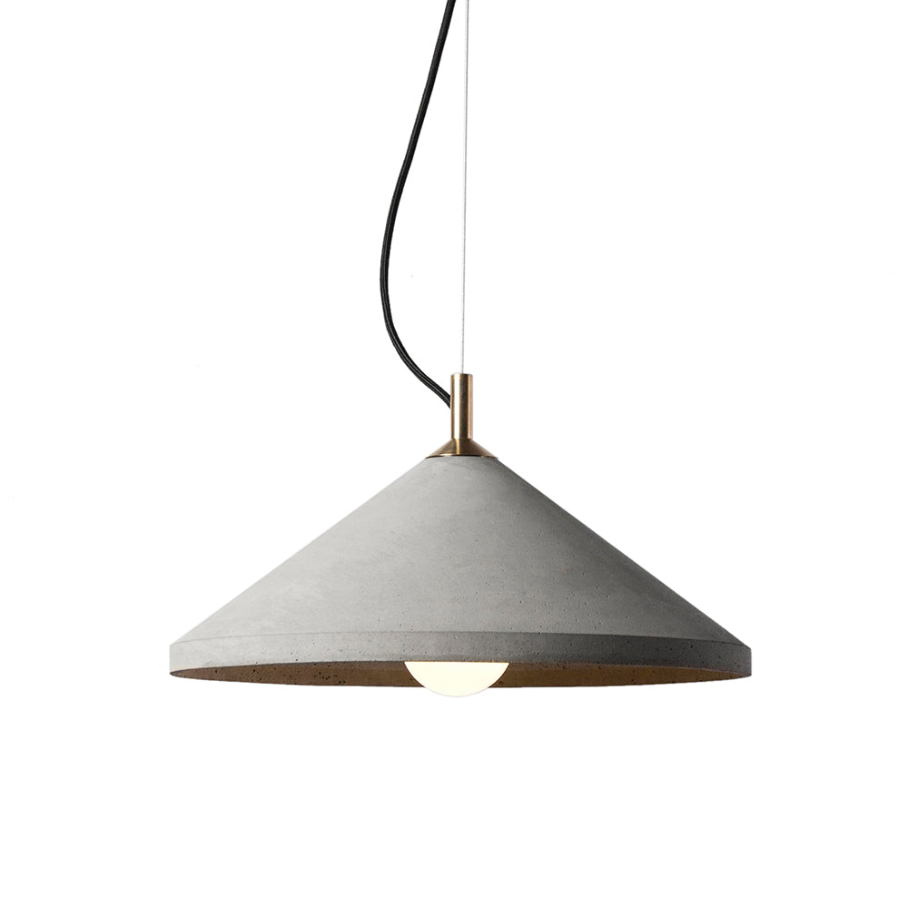 Ren Pendant Light/ Concrete