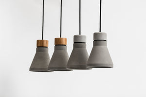 Mu Pendant Light / Concrete