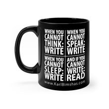 Load image into Gallery viewer, When to Write - 11oz Mug