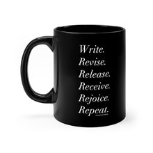 Load image into Gallery viewer, Six Words of Advice for Writers - 11oz Mug
