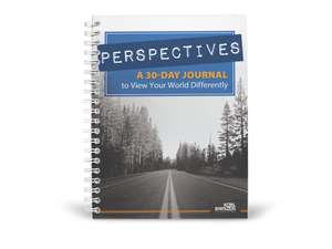 Perspectives: A 30 Day Journal to View Your World Differently by Karl Bimshas