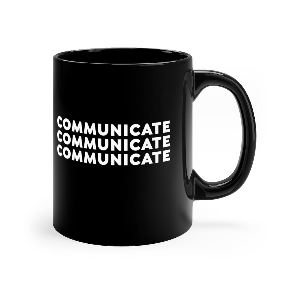 Communicate 11oz mug