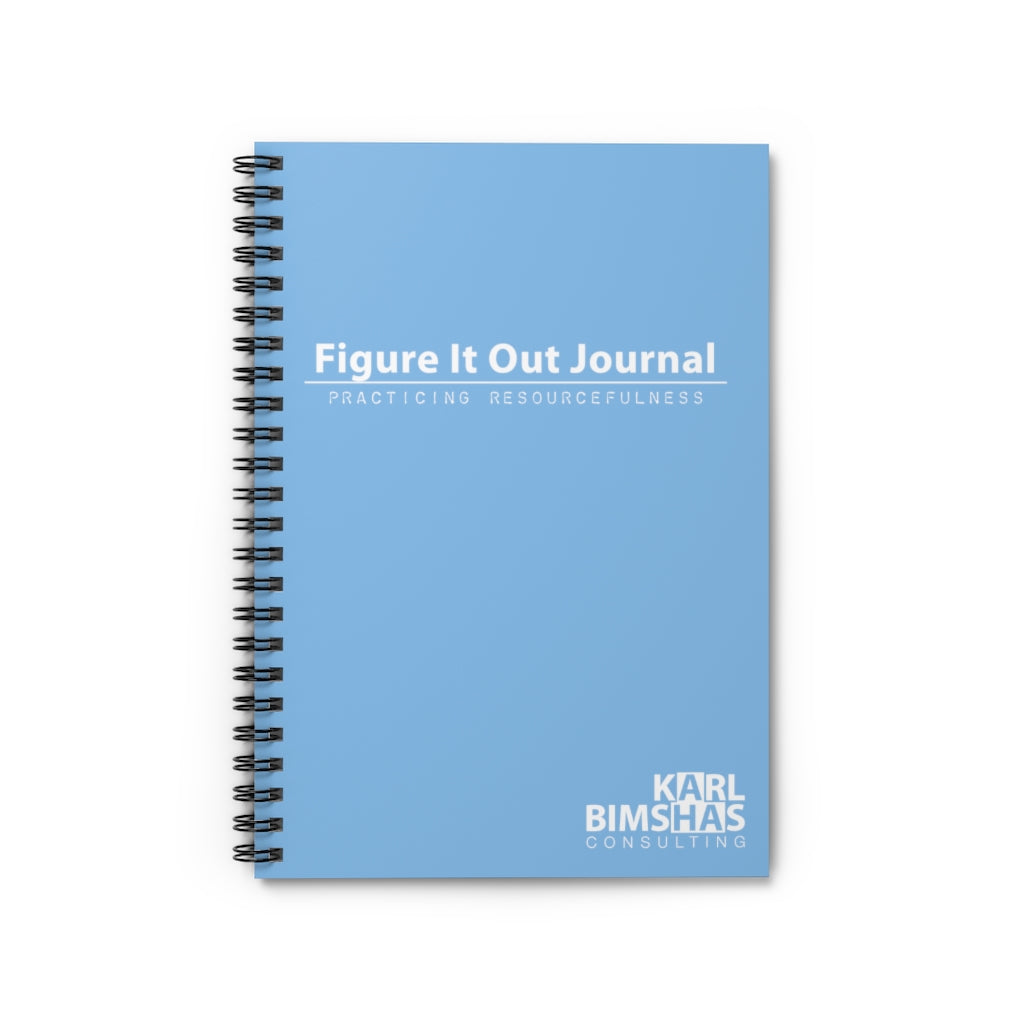 Figure It Out Journal - Spiral Notebook