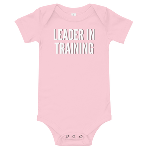 Leader in Training - Baby Onesie