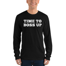 Load image into Gallery viewer, Boss Up - Long sleeve t-shirt