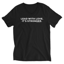 Load image into Gallery viewer, Lead with Love V-Neck
