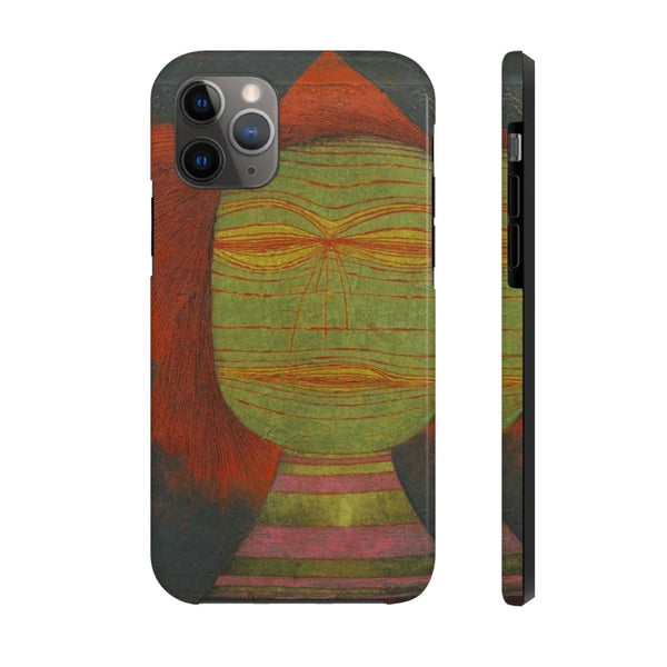 """Actor's Mask"" (1924) by Paul Klee Case Mate Tough Phone Cases - The UnSpace"