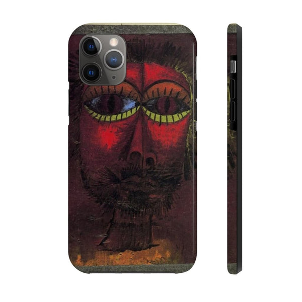 """Bandit's Head"" by Paul Klee Case Mate Tough Phone Cases - The UnSpace"