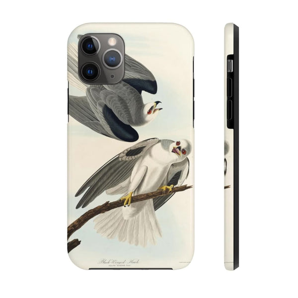 Black-Winged Hawk from Birds of America (1827) by John James Audubon Phone Cases - The UnSpace