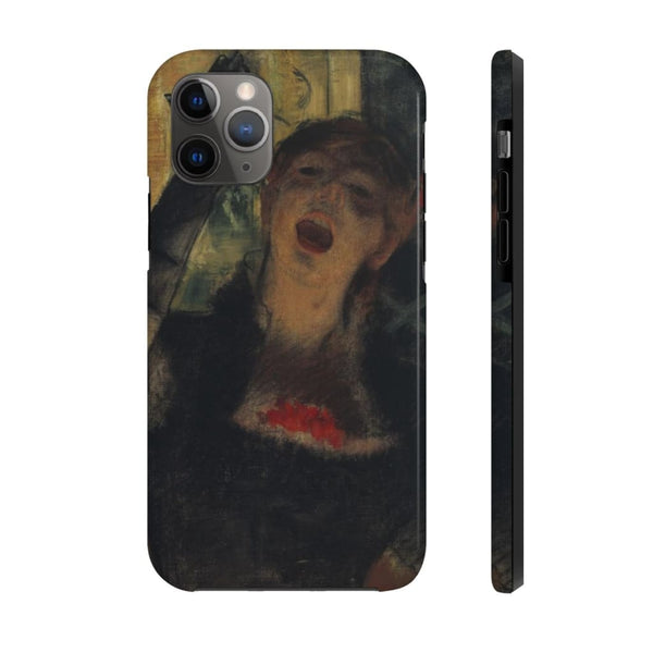 """Café Singer"" (1879) Case Mate Phone Case - The UnSpace"