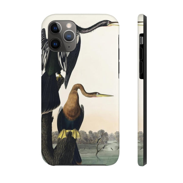 Copy of Columbia Jay from Birds of America (1827) by John James Audubon Phone Cases - The UnSpace