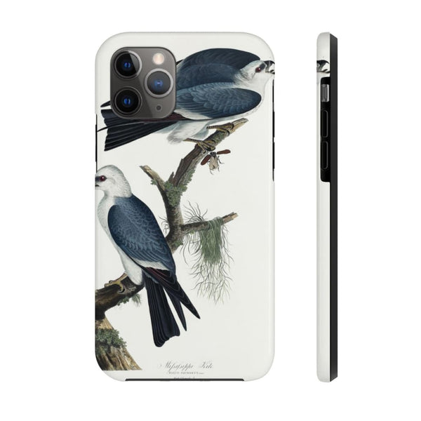 Mississippi Kite from Birds of America (1827) by John James Audubon Phone Cases - The UnSpace