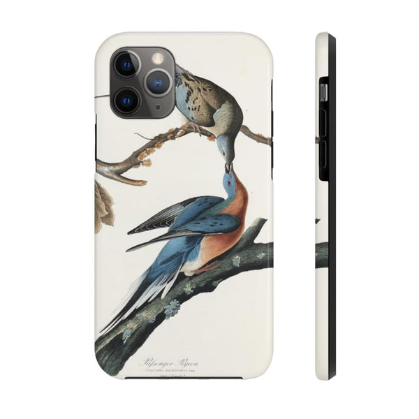 Passenger Pigeon from Birds of America (1827) by John James Audubon Phone Cases - The UnSpace