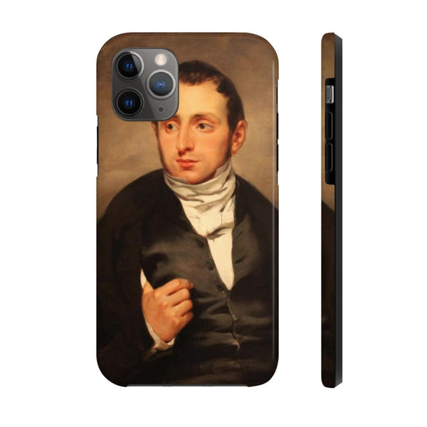 """Portrait of Dr. François-Marie Desmaisons"" (1832–33) Case Mate Phone Cases - The UnSpace"