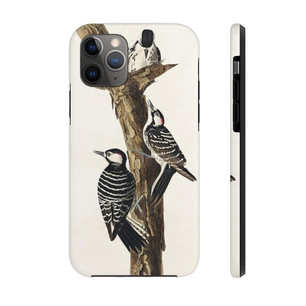 Red-Cockaded Woodpecker from Birds of America (1827) by John James Audubon Phone Cases - The UnSpace
