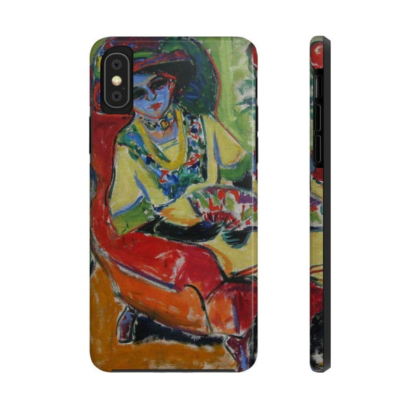 """Seated Lady (Dodo)"" (1907) Case Mate Phone Case - The UnSpace"