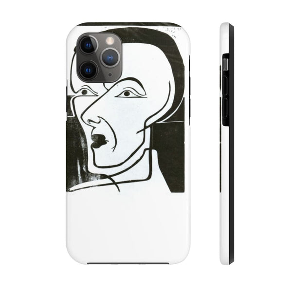 """Self-Portrait in Black and White"" (1932) Case Mate Phone Case - The UnSpace"