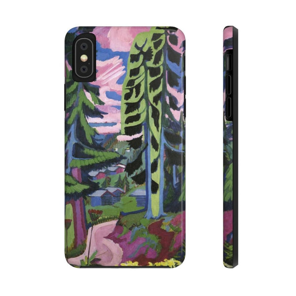 """Wildboden Mountains Forest"" (1927-28) Case Mate Phone Case - The UnSpace"