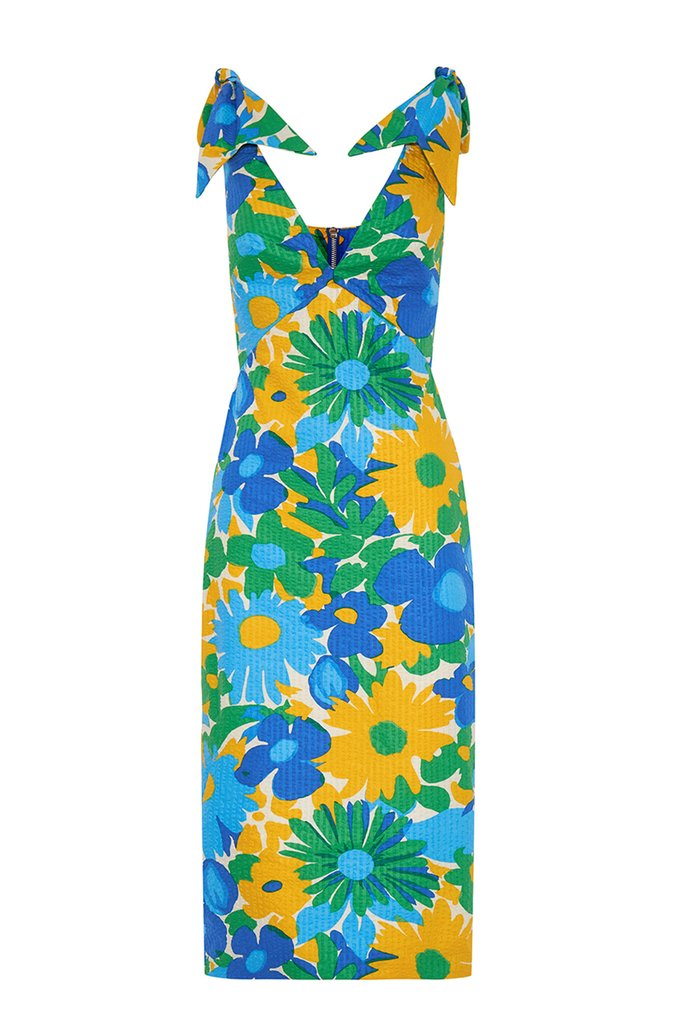 Floral Midi Dress Size 10 | By Johnny