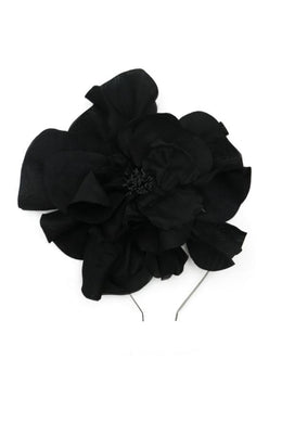 Morgan & Taylor Cindy Flower (Black) Millinery