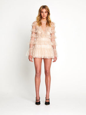 Alice McCall Zen Foil Dress Size 8   | Alice McCall