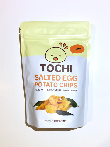 Tochi Kettle Salted Egg Potato Chips [USA]