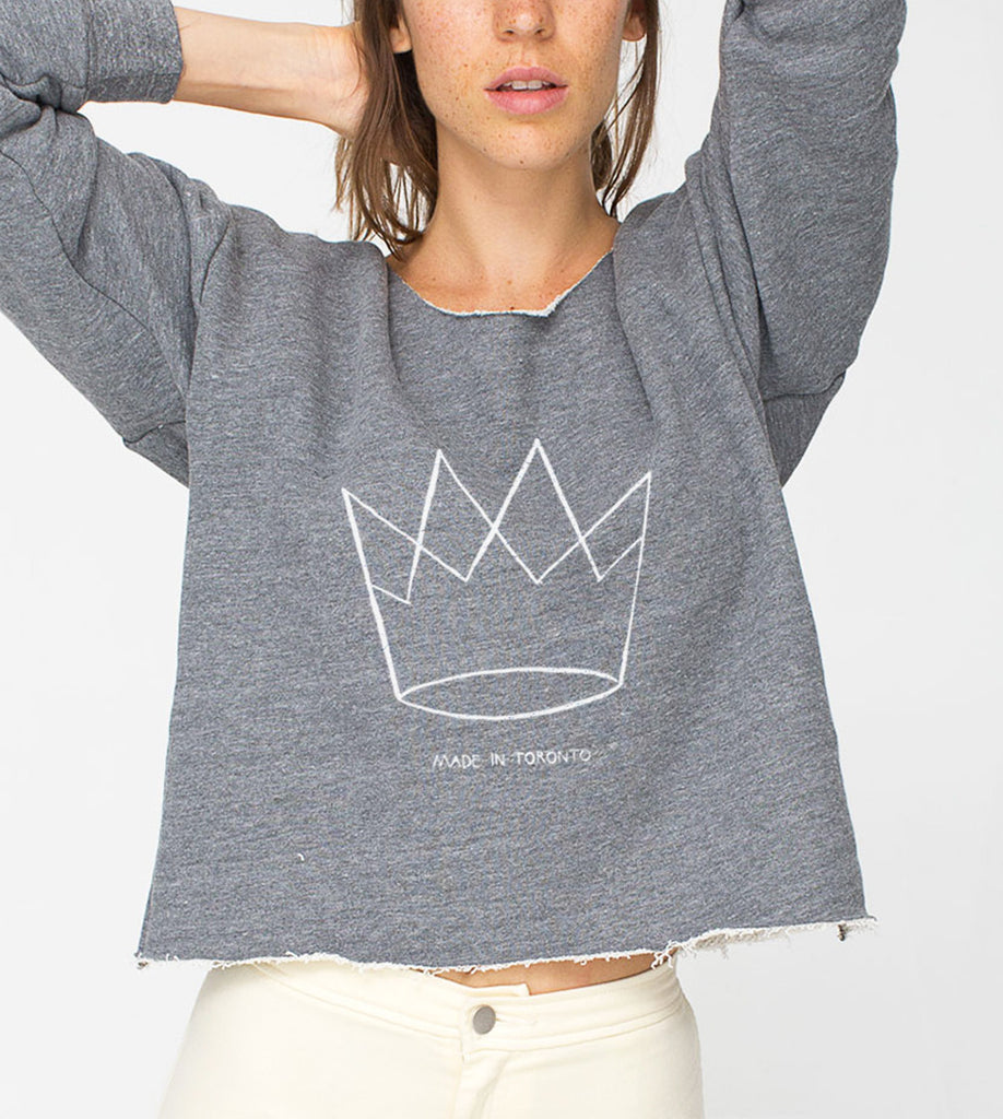 crown crop top
