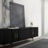 LIVING ROOM DESIGN: LUXURY SIDEBOARDS WITH BRASS HARDWARE