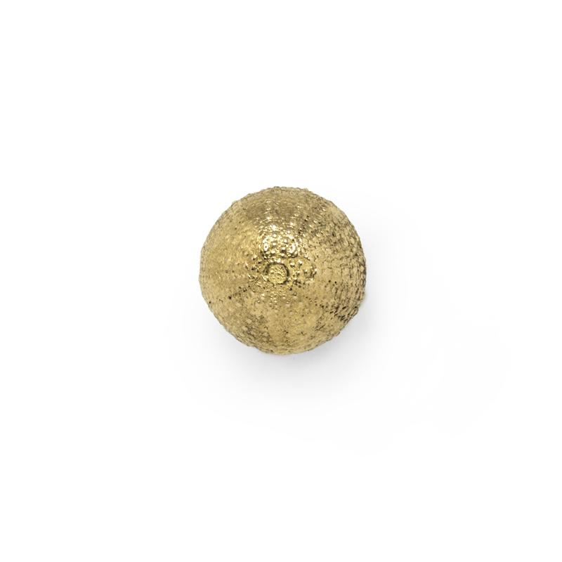 Luxury Golden Polished Urchin Drawer and Cabinet Handle Hardware