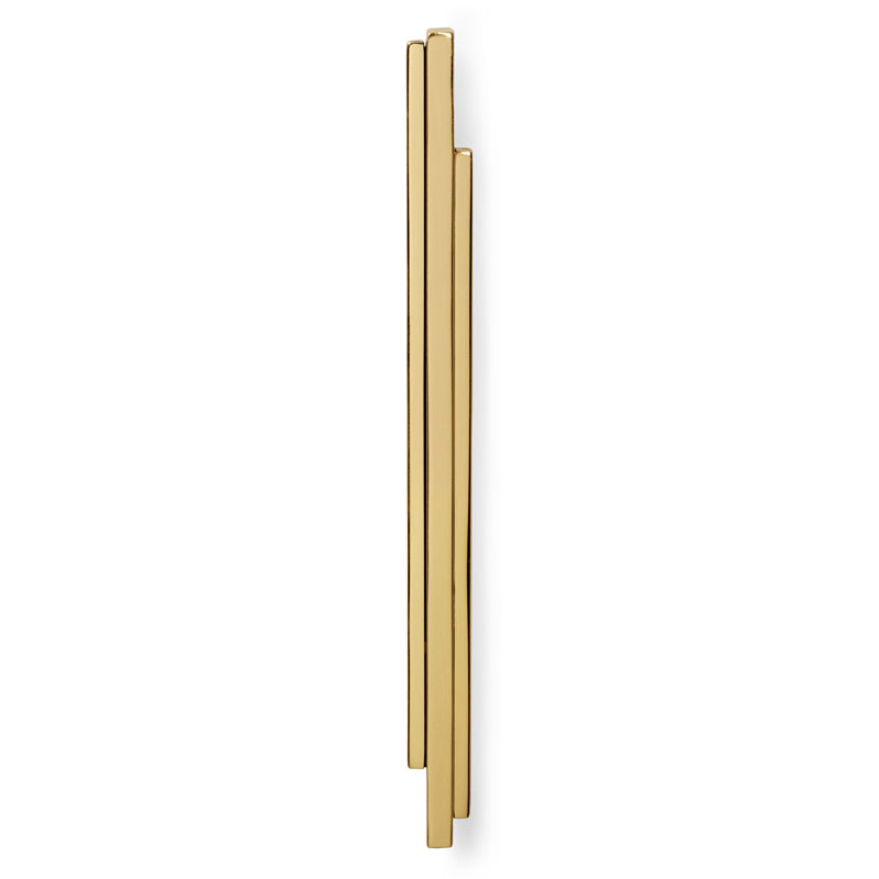 Luxury Golden Polished Cabinet Handle Hardware
