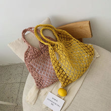 Load image into Gallery viewer, Braided Macrame Shoulder Bag