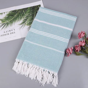 Striped Turkish Beach Towel