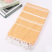 Load image into Gallery viewer, Striped Turkish Beach Towel